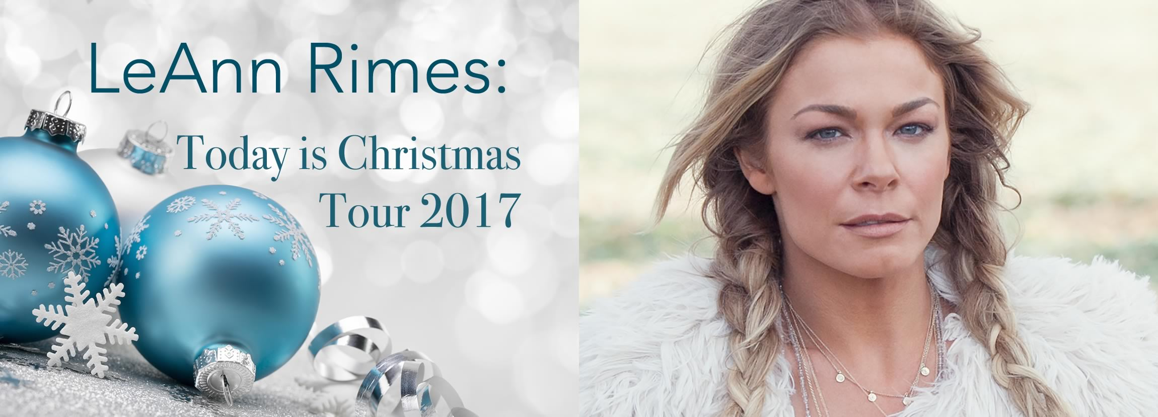 LeAnn Rimes: Today is Christmas Tour 2017 | Oxford Performing Arts ...